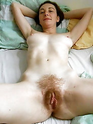 Aroused momma is masturbating