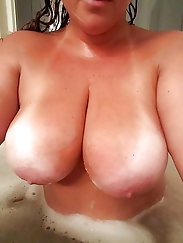 Busty megan, an arab and a granny top huge