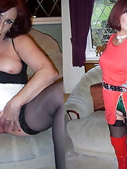 Mature dame is cheating her boyfriend