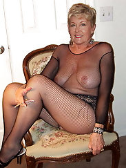 Mature damsel enjoys nudism so much