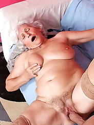 She likes this position 2 (granny and Milf)