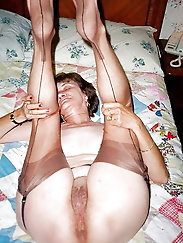 Hot grannies whos knickers double up as ankle warmers