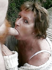 Cougar enjoys nudism so much