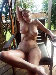 Adored mature GILFs with shaved twat