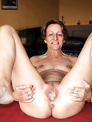Only Hot Grannies And Matures In Solo Mix #18 - GregRotten