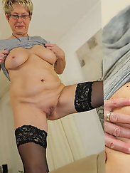 Granny sexy and proud of her body !