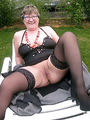 Granny Clare loves young cock