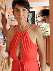 Clothed Granny - Big Boobs 15
