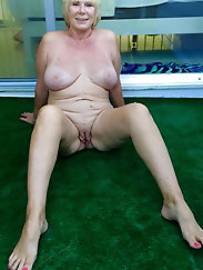 Turkish Fat Ass and fat body old Granny.