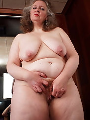 Mature bitch loves a huge boner very much